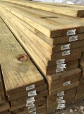 "1"" X 6"" X 16' Treated Pine Corral Board"